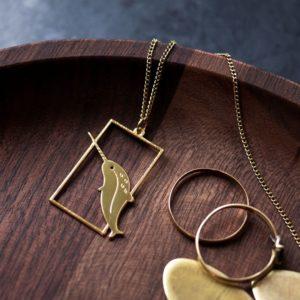 Sautoir narval - Les Naturalistes bijoux